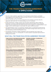The Trade Facilitation Agreement, A simple guide