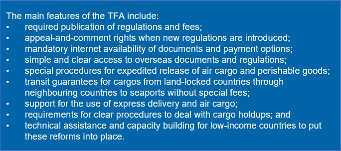TFA main features